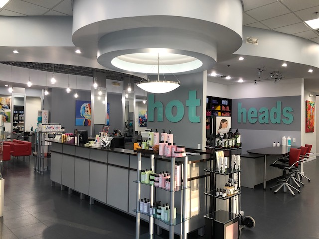 Hot Heads Hair Color Studio Interior